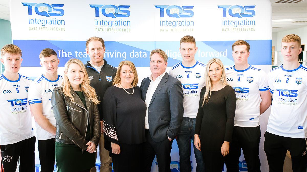 TQS sponsors GAA Waterford