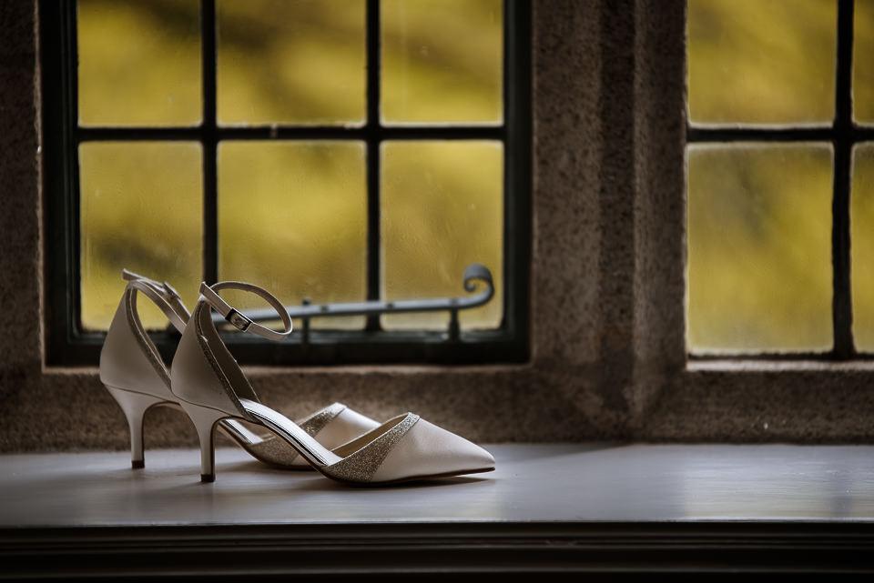 Wedding details shoes