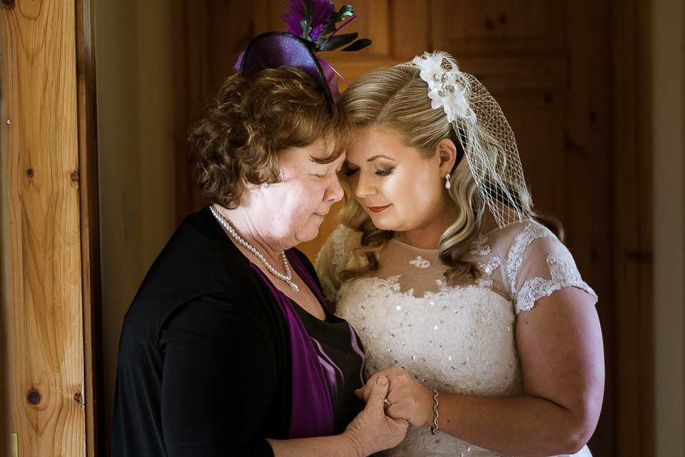 Bride with Mother 'I do' photography